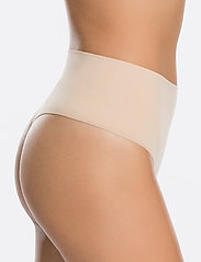 Spanx - Everyday Shaping Panties Thong - bottoms - soft nude - 3