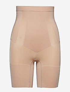H.W. MID TIGH - bottoms - soft nude