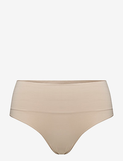 Everyday Shaping Panties Thong - bottoms - soft nude