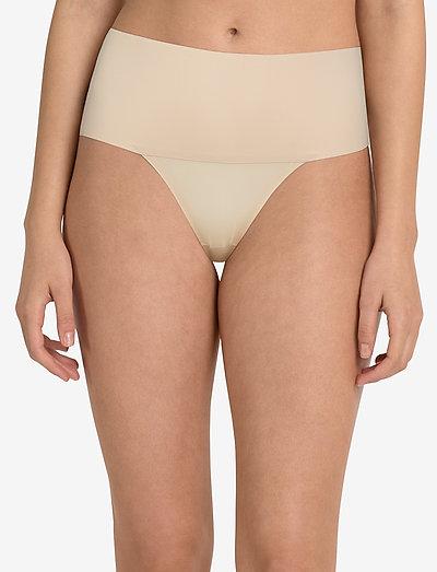 THONG - stringtrusser - soft nude