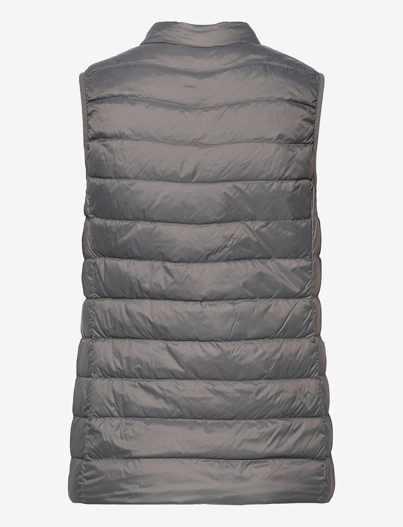 SPARKZ COPENHAGEN - PYLLA LGT WGT DOWN WAISTCOAT - puffer vests - charcoal - 1