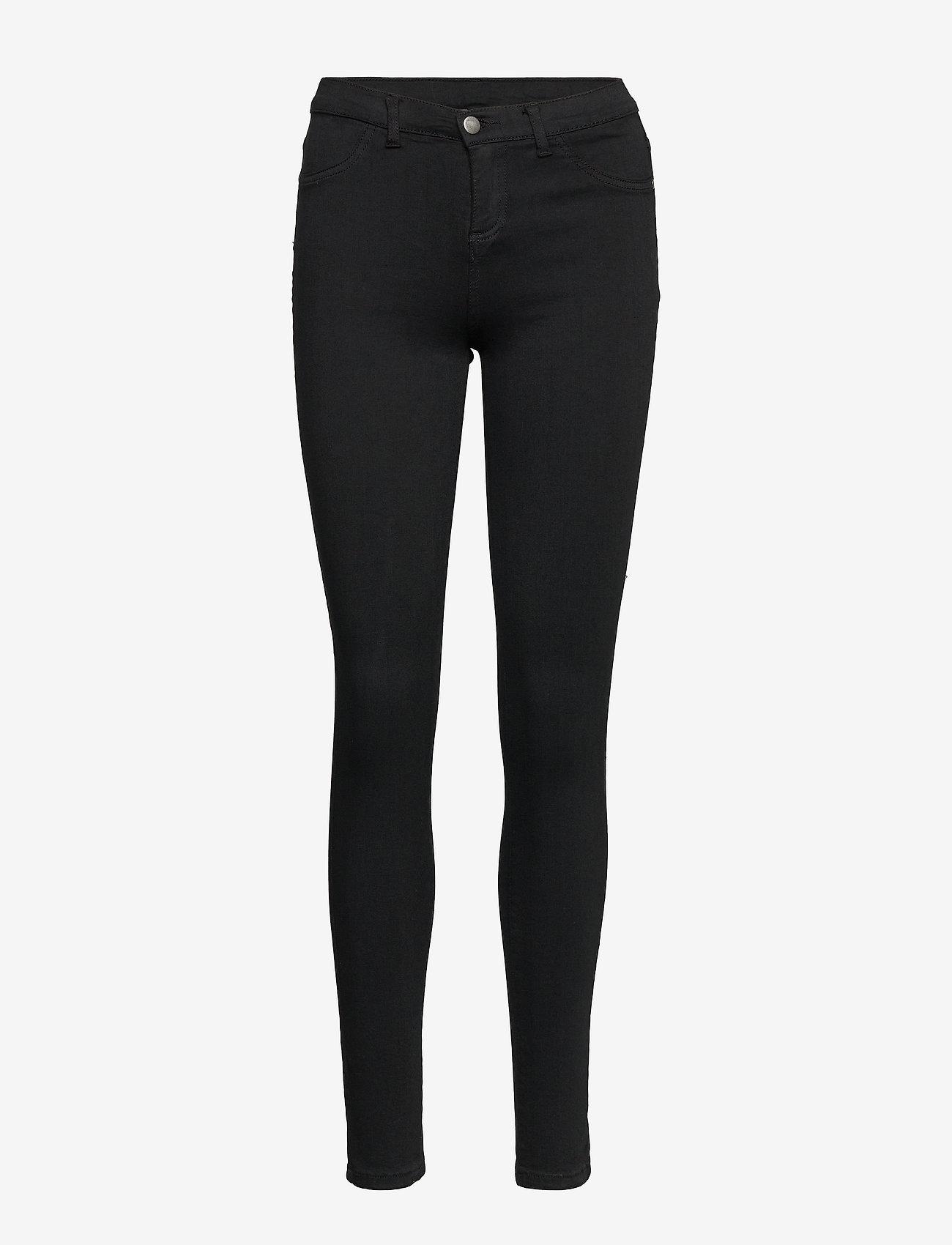 SPARKZ COPENHAGEN - CHRISTA BLACK PANTS - broeken med skinny fit - black - 0