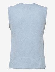SPARKZ COPENHAGEN - LISSIE KNITTED VEST - knitted vests - powder blue - 1