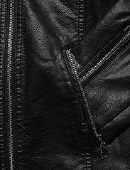 SPARKZ COPENHAGEN - LILITH BIKER JACKET - skinnjackor - black - 3