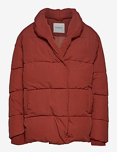 KENYA JACKET - down- & padded jackets - redwood