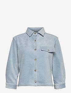 LOURDES CORDUROY SHIRT - long-sleeved shirts - powder blue