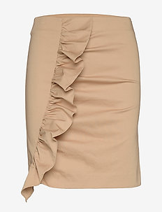 PETE SKIRT - BEIGE
