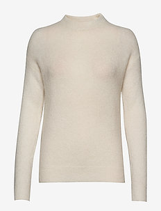 RASMINE TURTLENECK PULLOVER - OFF WHITE