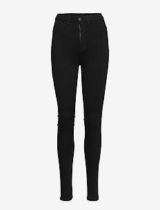 FREJA BLACK PANTS - pillihousut - black