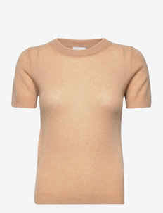 PURE CASHMERE TURTLENECK - gebreide t-shirts - black