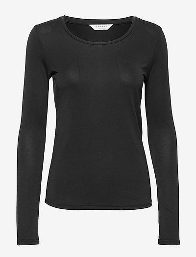 Sparkz Copenhagen Trille Long Sleeve- T-shirty I Topy Black
