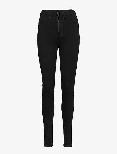 FREJA BLACK PANTS - smale busker - black