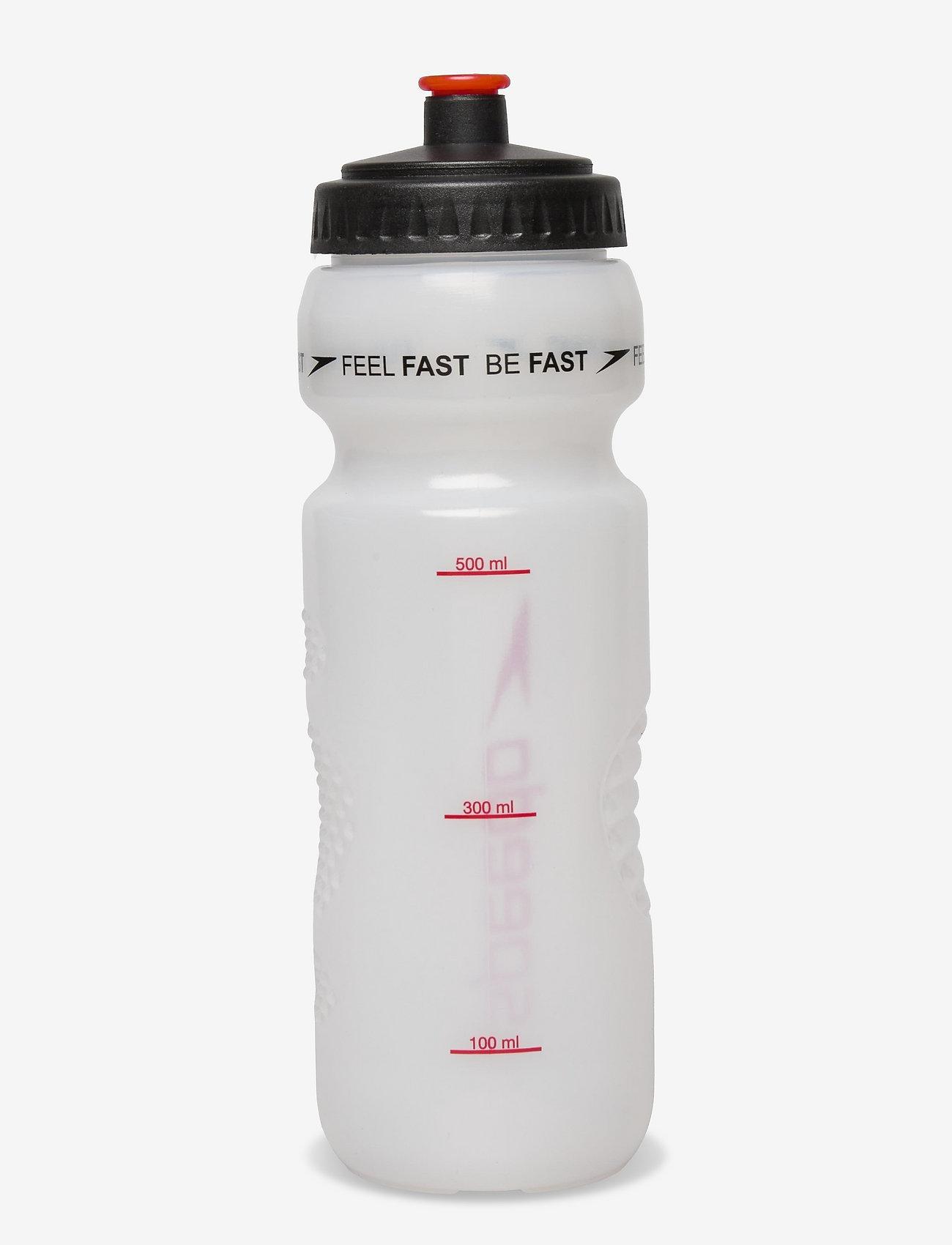 Speedo - WATER BOTTLE 800ML - vannflasker og termoser - red - 1