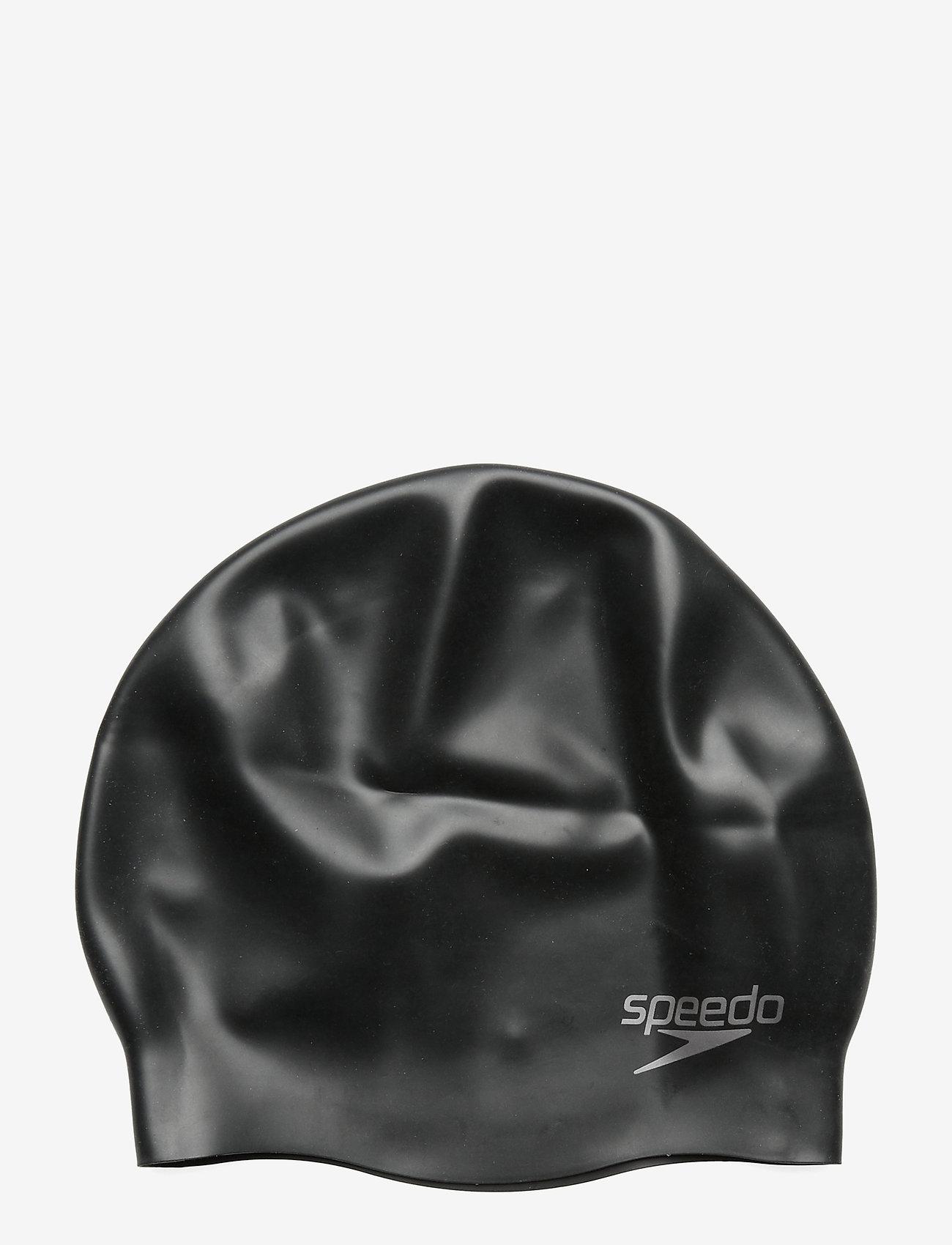 Speedo - SPEEDO SILICON MOULDED CAP AU, WHI MOP - muut - black - 1