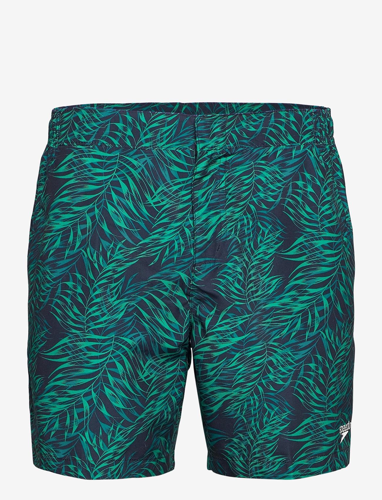"""Speedo - Vintage Paradise 16"""" Watershort - shorts - true navy/nordic teal/jade - 0"""