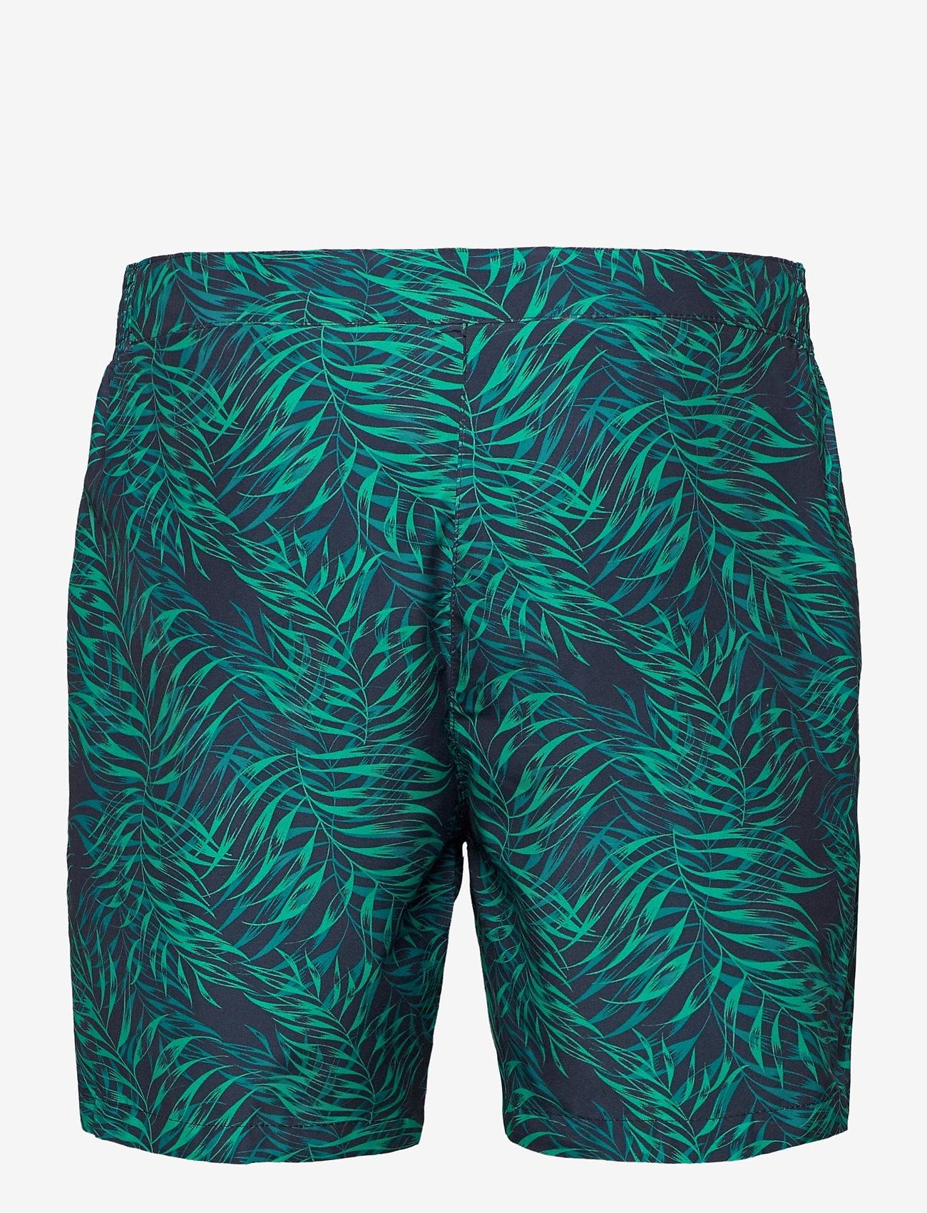 """Speedo - Vintage Paradise 16"""" Watershort - shorts - true navy/nordic teal/jade - 1"""