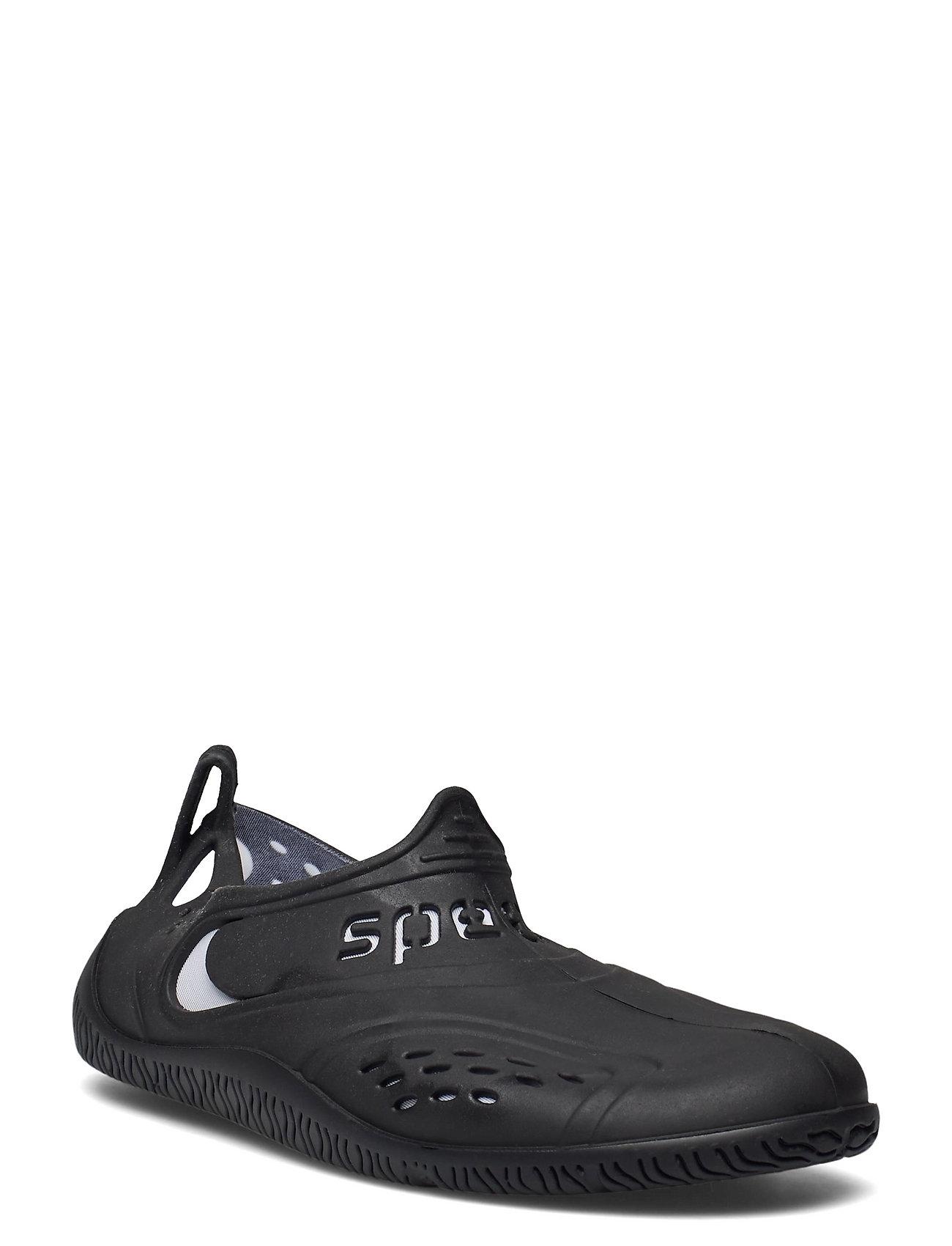 Speedo Zanpa Af, Black/White Shoes Summer Shoes Pool Sliders Sort Speedo