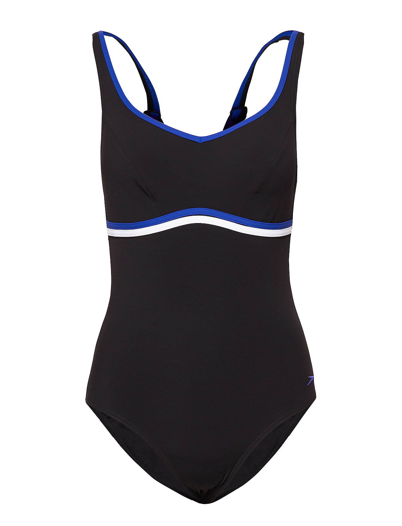 Speedo ContourLuxe - BLACK / CHROMA BLUE / WHITE
