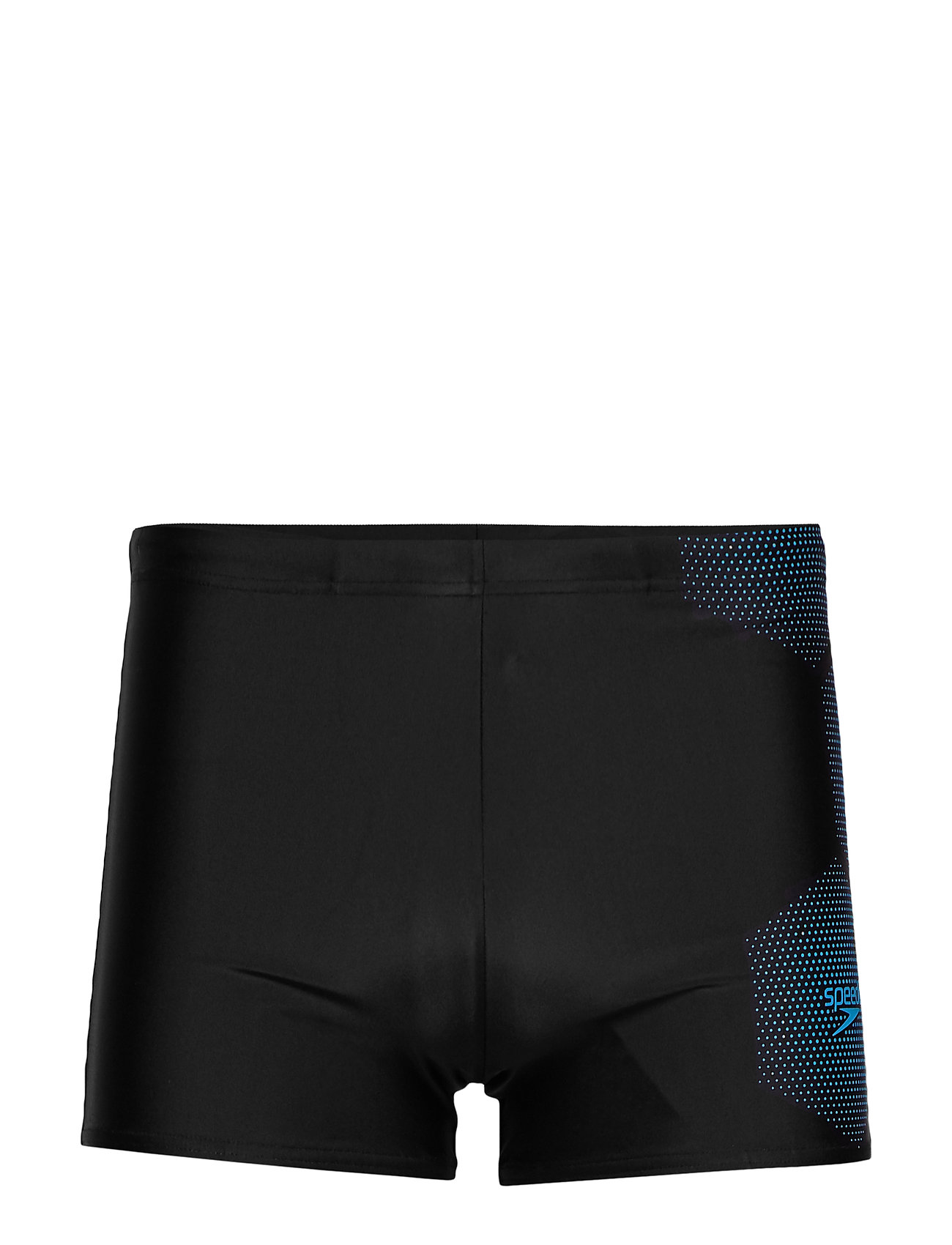 Image of Speedo Gala Logo Aquashort Am Black/White 2 Swimwear Briefs & Speedos Sort Speedo (3492045495)