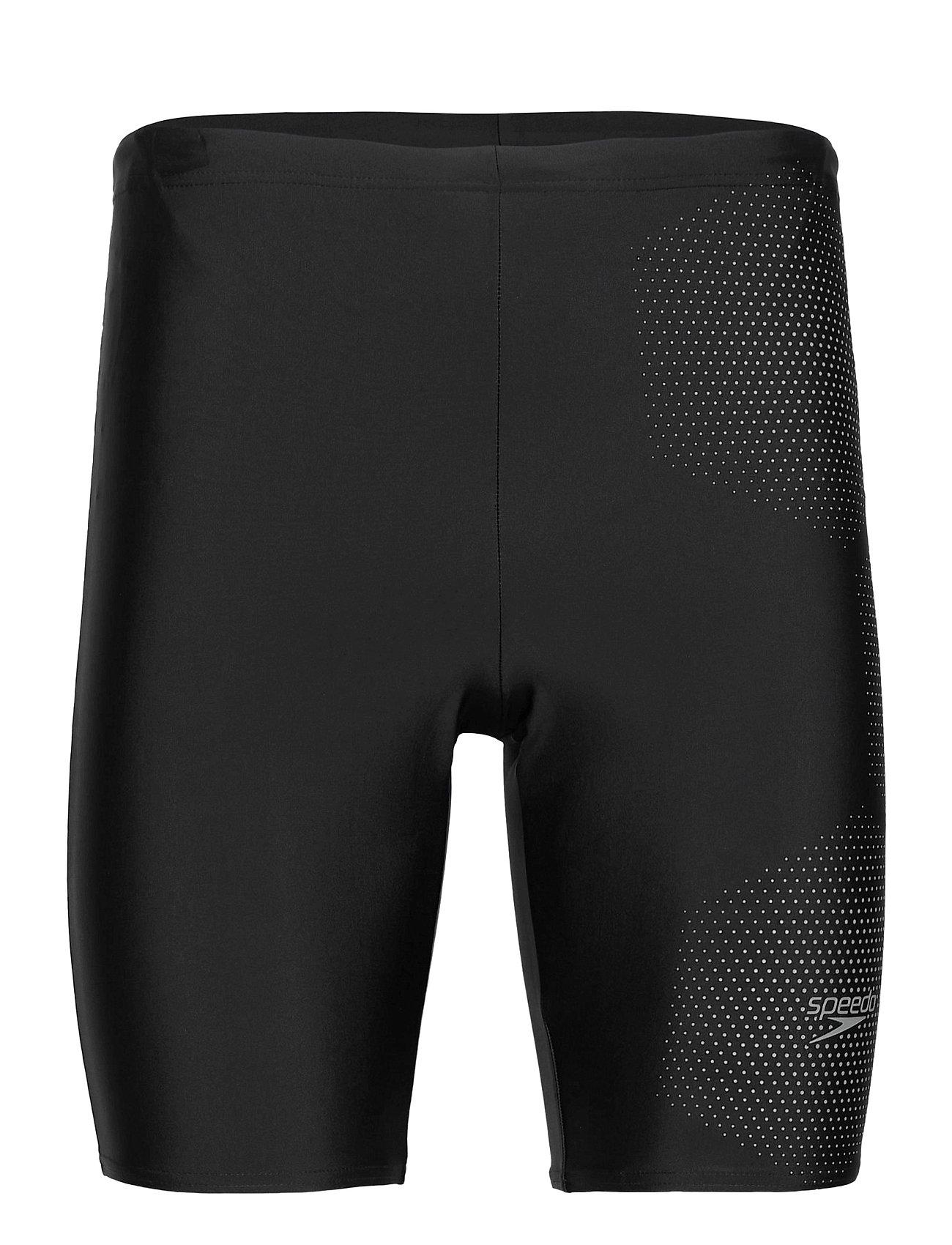 Image of Speedo Gala Logo Jammer Am Black/Blue 1 Swimwear Briefs & Speedos Sort Speedo (3493872573)