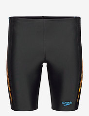 Speedo - SPEEDO ALOV PANEL JAMMER - briefs - black/mango/pool - 0