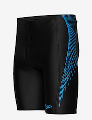 Speedo - SPEEDO ALOV PANEL JAMMER - briefs - black / nordic teal / pool - 3