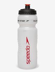 Speedo - WATER BOTTLE 800ML - vannflasker og termoser - red - 0