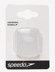 Speedo - Universal Nose Clip - svømmetilbehør - clear - 0