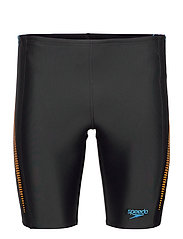 SPEEDO ALOV PANEL JAMMER - BLACK/MANGO/POOL