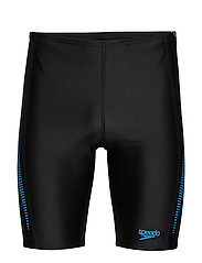SPEEDO ALOV PANEL JAMMER - BLACK / NORDIC TEAL / POOL