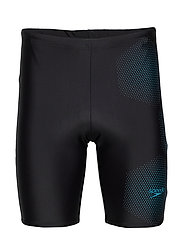 "SPEEDO GALA LOGO JAMMER AM BLACK/BLUE 1(26"") - BLACK / POOL"