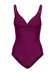 Brigitte 1 Piece - DEEP PLUM