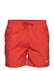 "Essentials 16"" Watershort - FED RED"