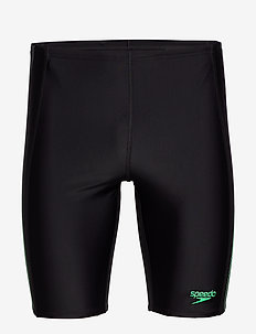 SPEEDO ALOV PANEL JAMMER - BLACK/USA CHARCOAL/FAKE GREEN