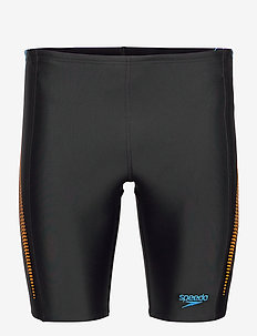 SPEEDO ALOV PANEL JAMMER - briefs - black/mango/pool