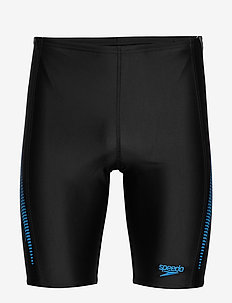 SPEEDO ALOV PANEL JAMMER - kąpielówki - black / nordic teal / pool