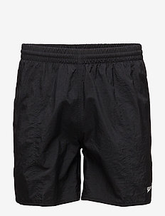 "SOLID LEISURE 16"" WATERSHORT - BLACK"