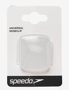 Universal Nose Clip - svømmetilbehør - clear