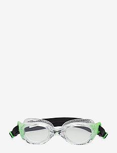 Futura Classic - svømmetilbehør - green/clear