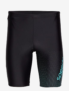 "SPEEDO GALA LOGO JAMMER AM BLACK/BLUE 1(26"") - BLACK AQUASPLASK"