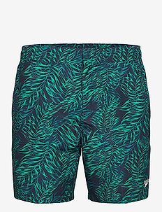 "Vintage Paradise 16"" Watershort - shorts - true navy/nordic teal/jade"