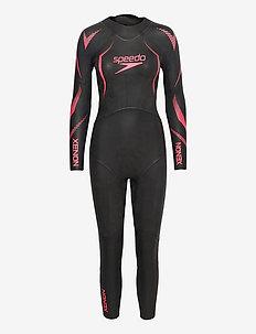 Xenon Fullsuit Wetsuit W - sportsbadetøj - black/purple
