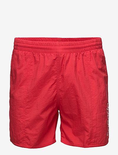 SPEEDO SCOPE 16 WSHT AM, RED/WHITE XS - badebukser - fed red