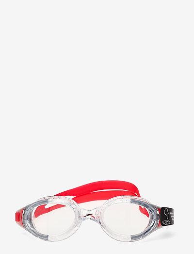 Futura Biofuse Flexiseal - svømmetilbehør - lava red/clear