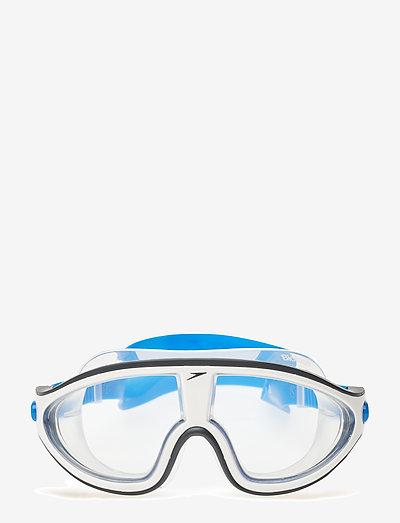 Biofuse Rift Mask - svømmetilbehør - bondi blue/white/clear