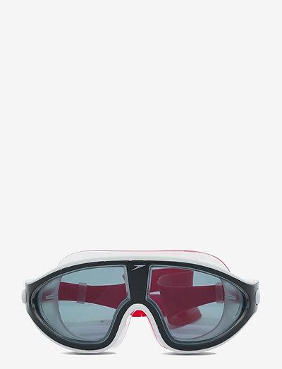 Biofuse Rift Mask - svømmetilbehør - lava red/oxid grey/smoke