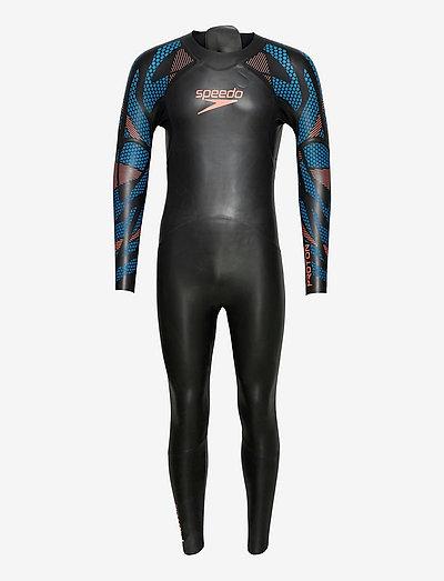 Proton Wetsuit M - briefs - black/blue
