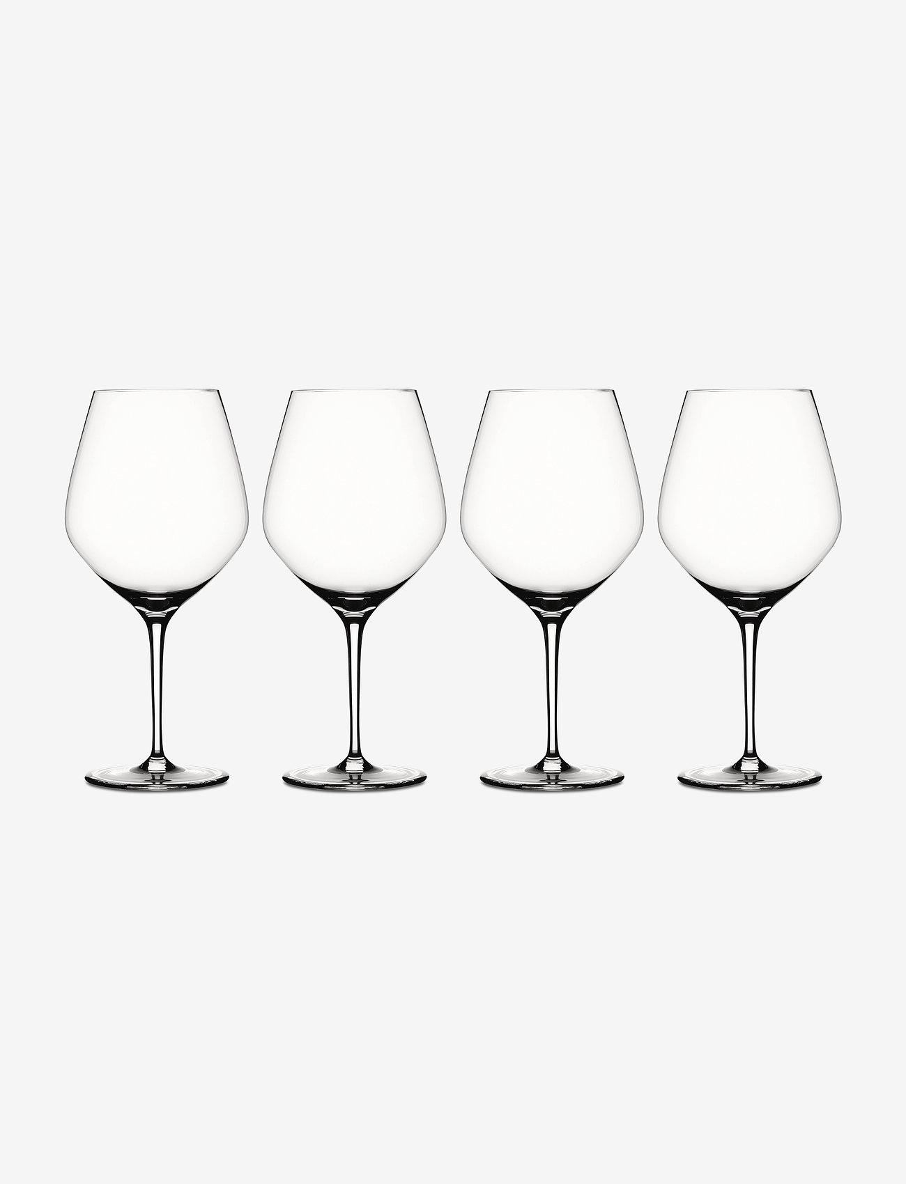 Spiegelau - Authentis Burgundy 75 cl 4-p - vinglass - clear glass - 0