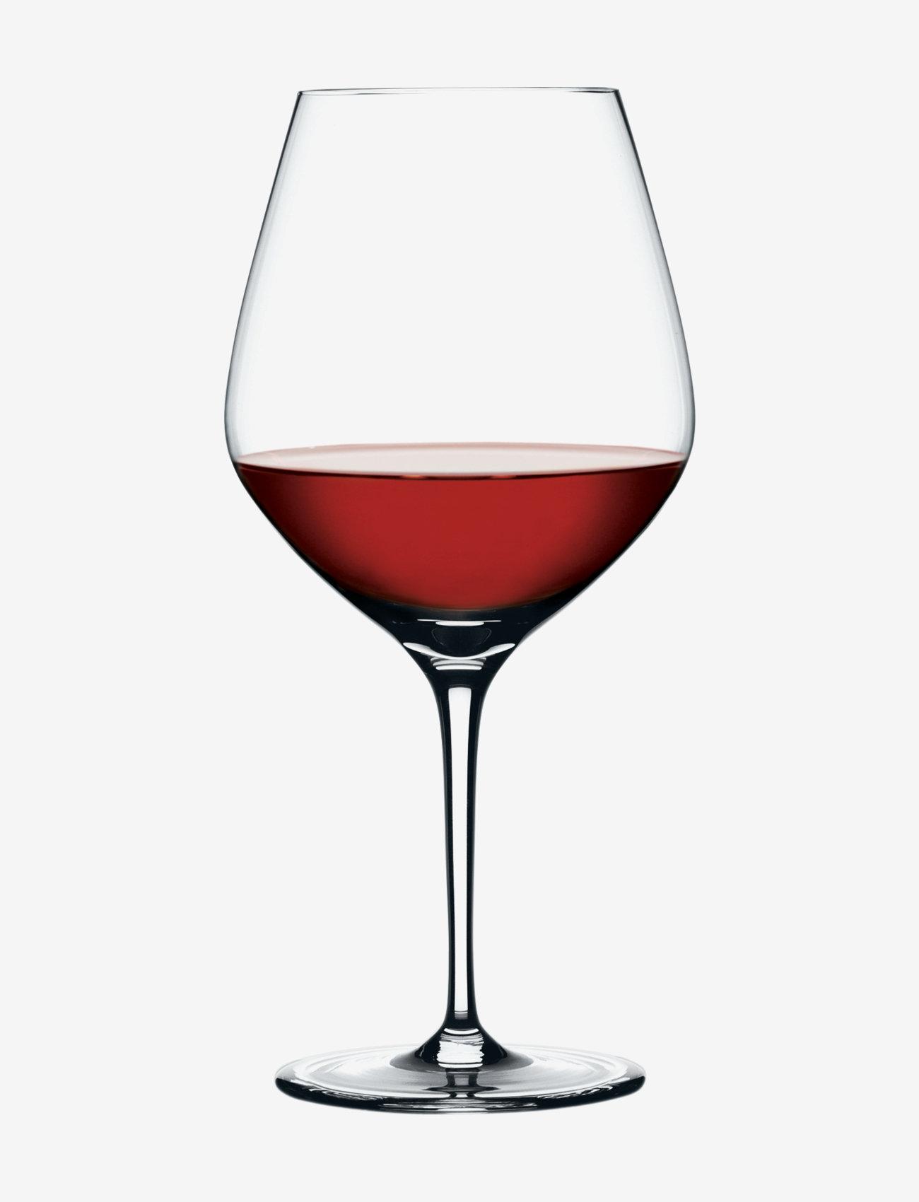 Spiegelau - Authentis Burgundy 75 cl 4-p - vinglass - clear glass - 1