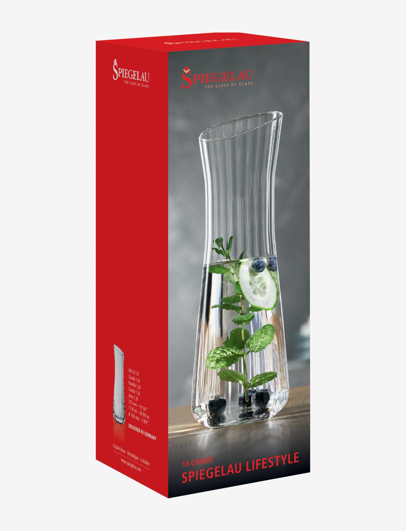 Spiegelau - Lifestyle karahvi 1 L - vesikannut ja -karahvit - clear glass - 1
